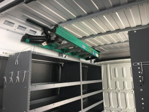 Pro Master High Roof JET Rack over tool box